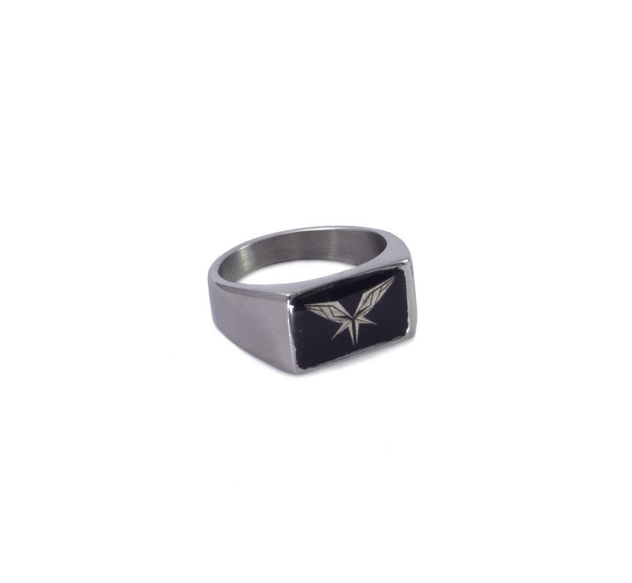 Radical signet ring