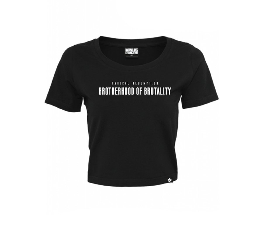 BROTHERHOOD OF BRUTALITY CROPTOP