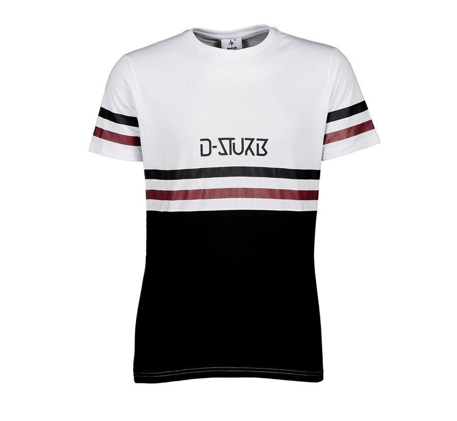 D-Sturb stripe shirt