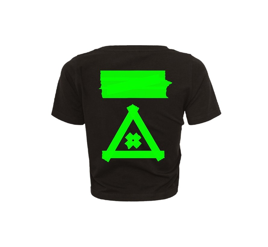 KILLSHOT GREEN CROPTOP
