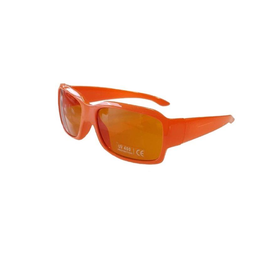 Kingsday orange glasses