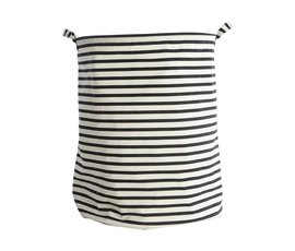 House Doctor House Doctor laundry basket stripes