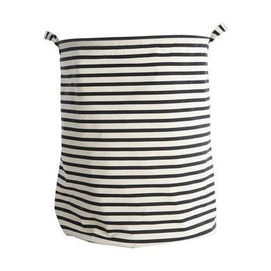 House Doctor House Doctor laundry basket with stripes