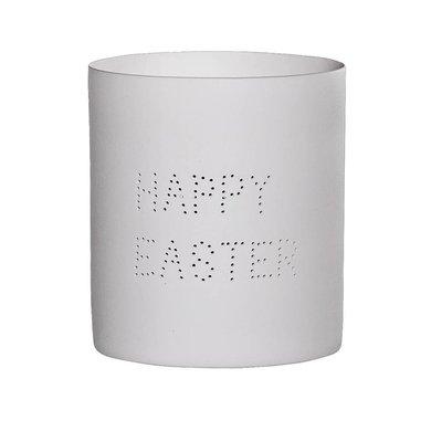 Bloomingville Bloomingville Happy Easter tealight holder