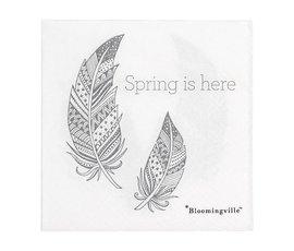 Bloomingville Bloomingville servetten Spring  is here