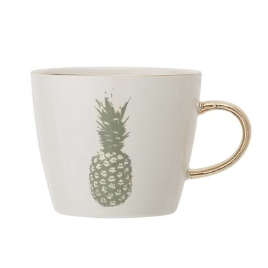 Bloomingville Bloomingville Aruba mug Pineapple