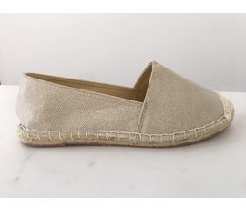 Jane and Fred.com Espadrilles goud