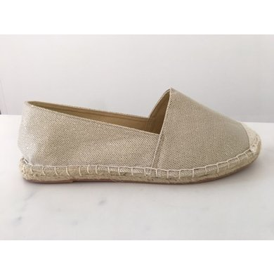 Jane and Fred.com Espadrilles goud 39