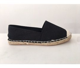 Jane and Fred.com Espadrilles zwart 39