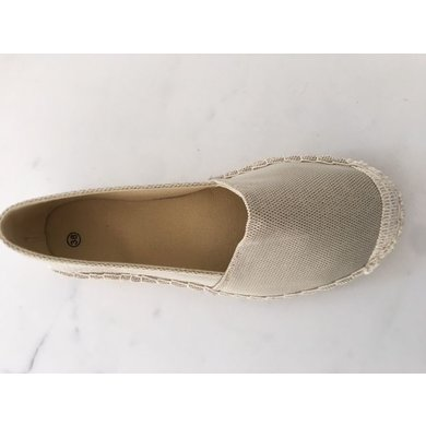 Jane and Fred.com Espadrilles gold