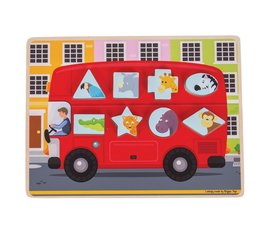 Greentoys Puzzle bus
