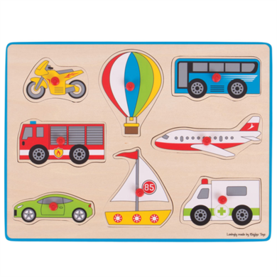 Greentoys Puzzel transport