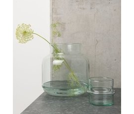 Urban Nature Culture Amsterdam Vaas gerecycled glas