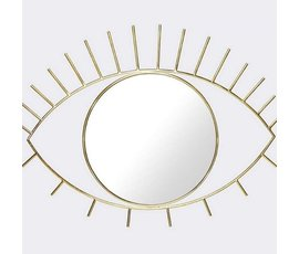 "Doiy Wall mirror ""Cycloop"" L gold"