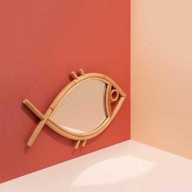 """Doiy Wall mirror """"Tan Tan"""" size M"""