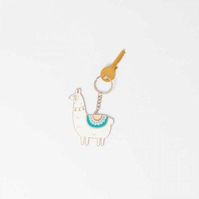 Doiy Keychain Lama Unicorn