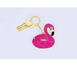 Doiy Sleutelhanger Flamingo