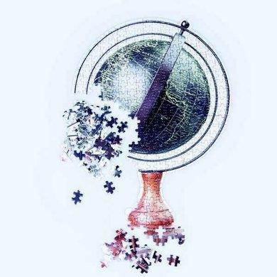 """Doiy Slow Puzzle """"globe"""""""
