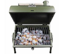 Gusta Gusta Barbecue en roker 2-in-1 groen