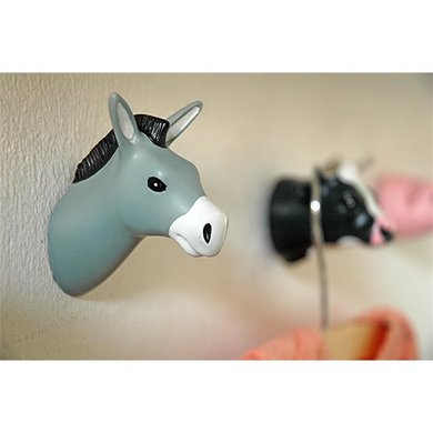 The Zoo Donkey wall hook