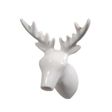 The Zoo Wall hook dear deer white