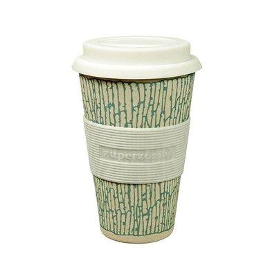 Zuperzozial Bamboo cruising travel cup print