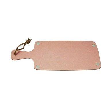 Zuperzozial Bamboo cutting board pink
