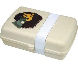 Zuperzozial Bamboe lunchbox Lion