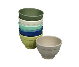 Zuperzozial Bamboo bowls set of 6 breeze