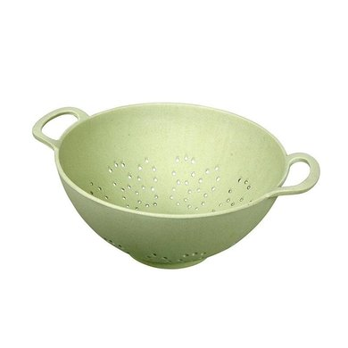 Zuperzozial Bamboo strainer 23 cm willow green