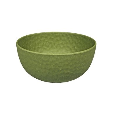 Zuperzozial Bamboo medium bowl Hammered moss green