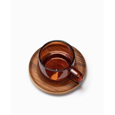 Kinto Kinto Sepia cup and saucer