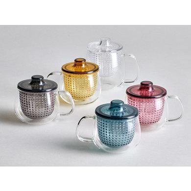 Kinto Kinto tea mug wine red