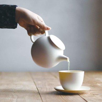 Kinto Kinto Pebbles teapot cream