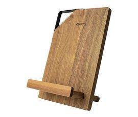 Gusta Gusta tablet & kookboekstandaard acacia