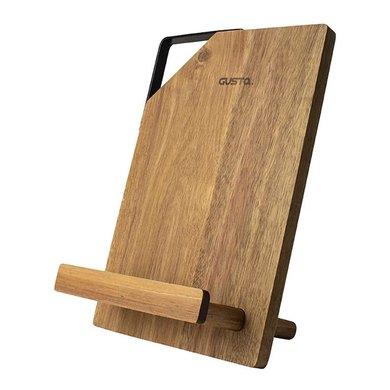 Gusta Gusta tablet & cookbook standard acacia