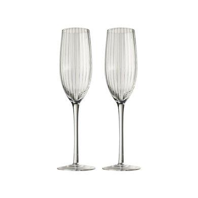 Gusta Gusta champagne glazen set van 2