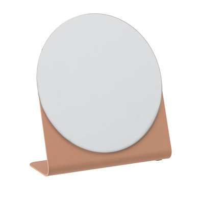 Bloomingville Mirror salmon orange