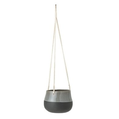 Bloomingville Hang flowerpot grey
