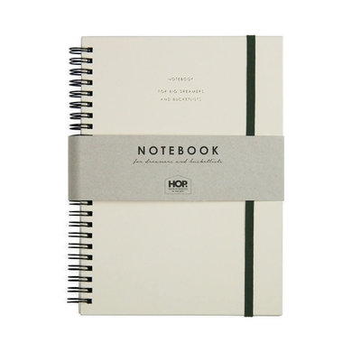 House of products Notebook Big - Honey Nude