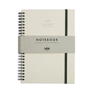 House of products Notitieboek big - honey nude