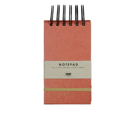 House of products Notepad Small - Brick Red
