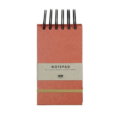 House of products Notitieboekje  small - brick red