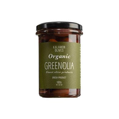 Het Olijflab Greenolia olijven Kalamon