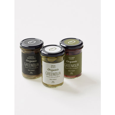 Het Olijflab Greenolia green olives