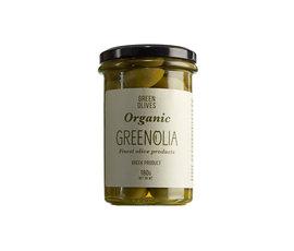 Het Olijflab Greenolia  groene olijven