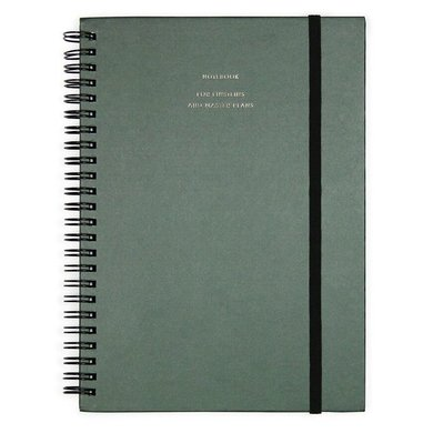 House of products Notebook Big - Forest Green