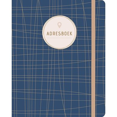 Deltas Address book blue