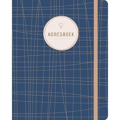 Deltas Adresboek blauw