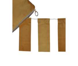Delight Department Ochre velvet garland